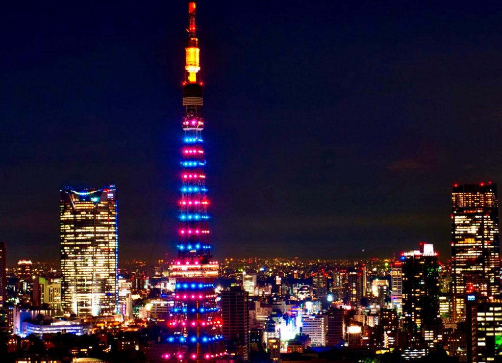 ローゼから見える夜景・東京タワー