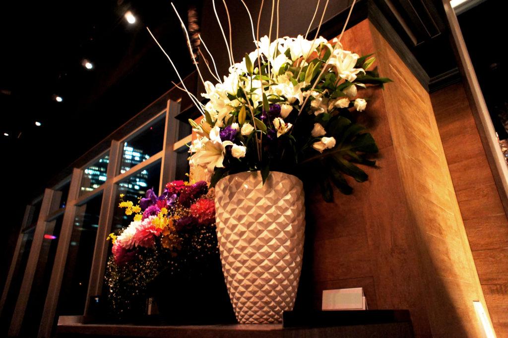 特注の花瓶
