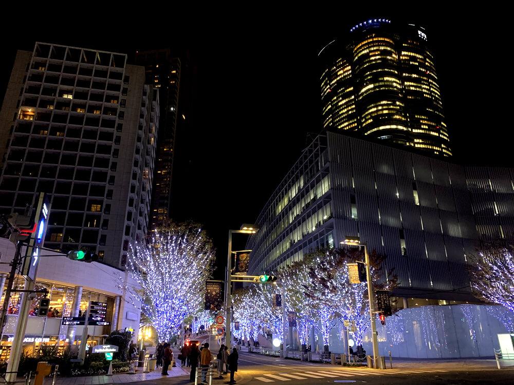 六本木けやき坂のクリスマス・イルミネーション