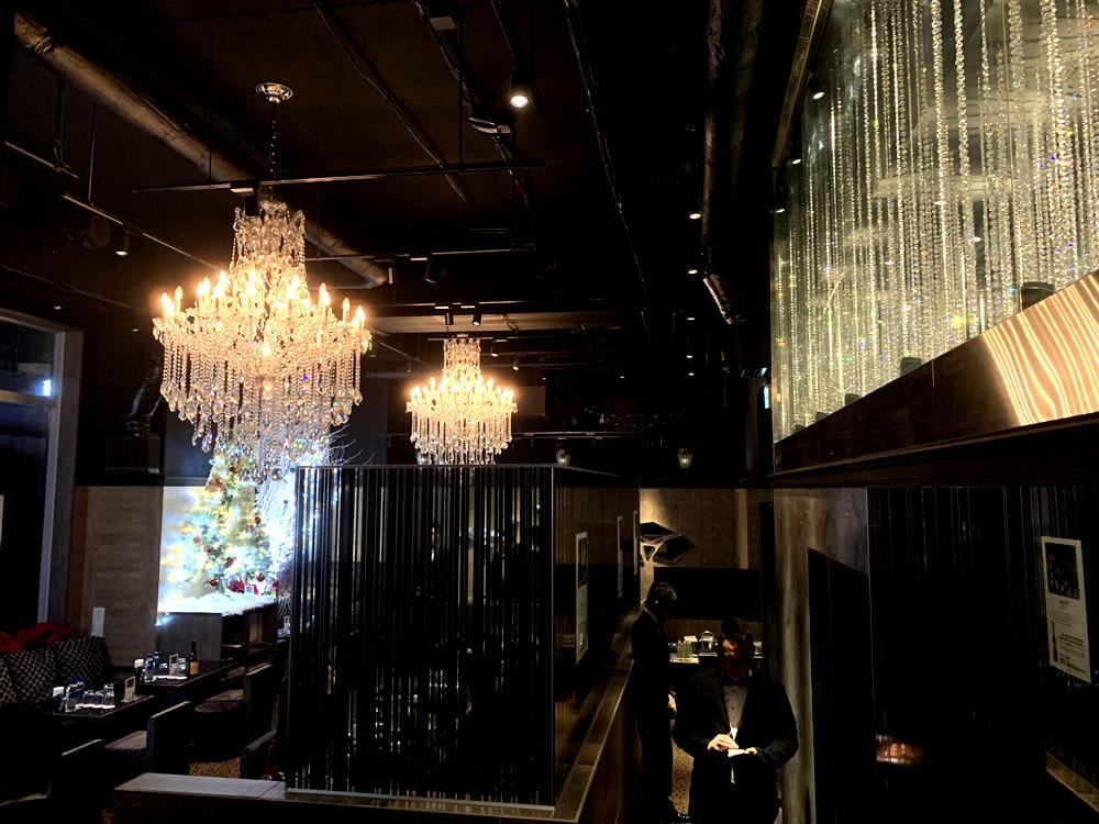六本木クラブローゼのクリスマス・メインホール