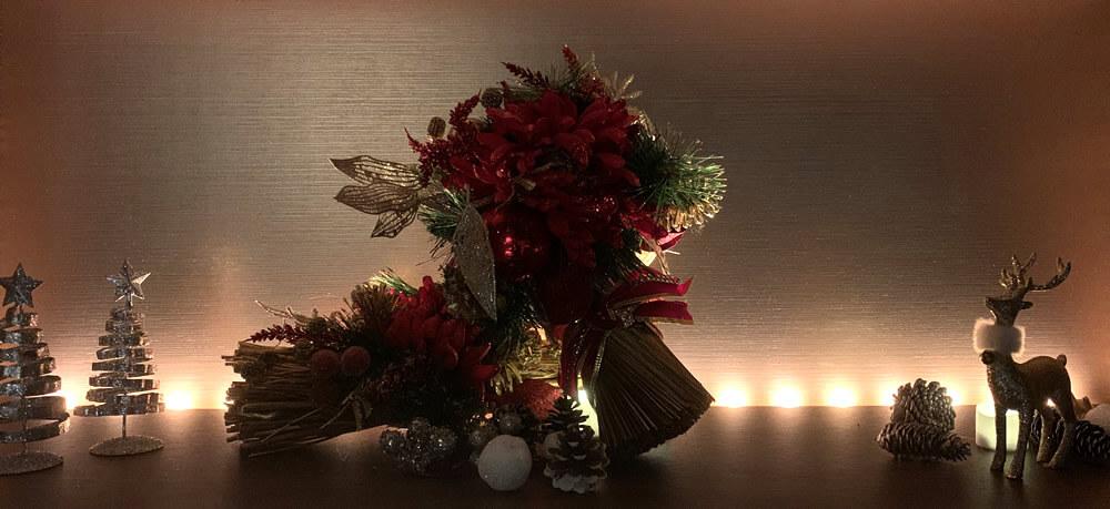 六本木クラブローゼのクリスマスの飾り