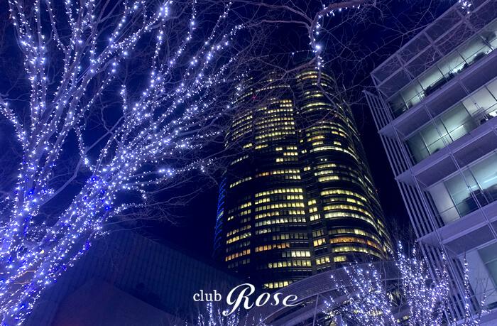 六本木けやき坂の近くにクラブ・ローゼはあります。
