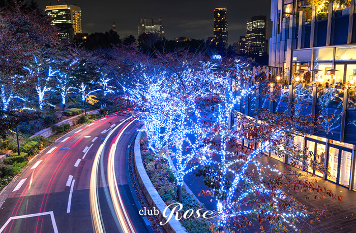 クラブ・ローゼの近くにある東京ミッドタウン